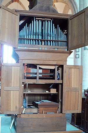 oudste orgel van nederland